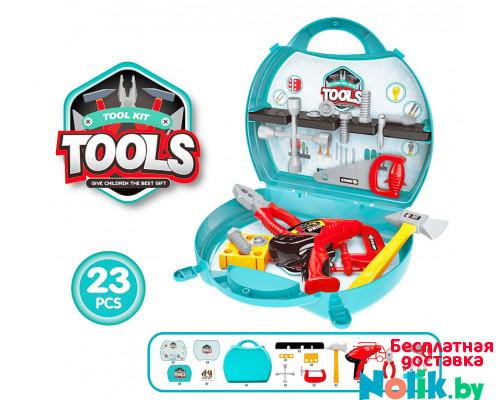 Детский набор инструментов в чемодане, 23 элемента. Арт. 8021A в Минске