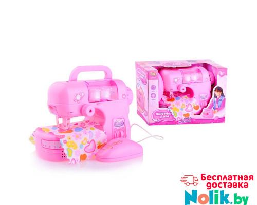 Детская швейная машинка для девочек Мой уютный дом Play Smart свет/звук (механизм как в настоящей машинке). Арт. 0926 в Минске