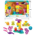 Набор для творчества кондитерская мороженного «Little Pony», 6 цветов. Тесто для лепки. Арт. SM8015
