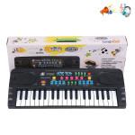 Синтезатор детский с микрофоном 37 клавиш ( 43х17х6 см). Арт. MQ-3702