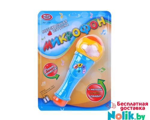 Музыкальная игрушка Play Smart Микрофон 7750. Цвет голубой. Арт. 7750 в Минске