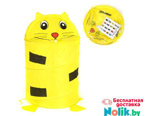 Корзина для игрушек детская Котенок. Цвет желтый. Арт. D27921 в Минске