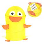 Корзина для хранения игрушек (ящик для игрушек) Утенок. Цвет желтый. Арт. D27921