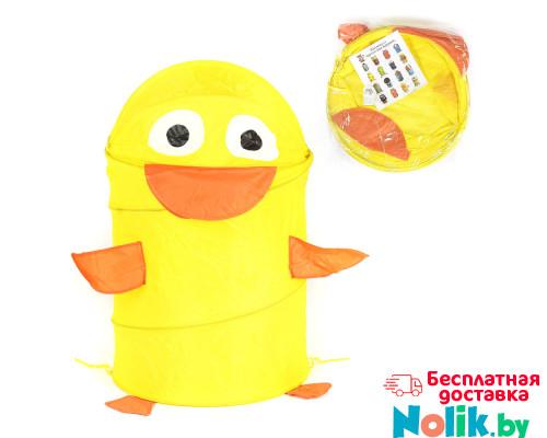 Корзина для хранения игрушек (ящик для игрушек) Утенок. Цвет желтый. Арт. D27921 в Минске