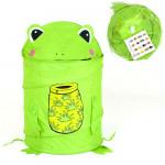 Корзина для игрушек Лягушонок. Цвет зеленый. Арт. D27921