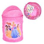 Корзина для игрушек круглая Disney Принцессы. Цвет розовый. Арт. D27922