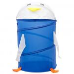 Корзина для хранения игрушек (ящик для игрушек) Пингвин. Цвет синий. Арт. D27921