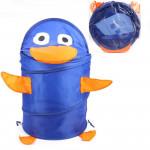 Корзина для хранения игрушек (ящик для игрушек) Утенок. Цвет синий. Арт. D27921