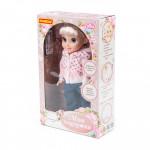 """Кукла детская """"Кристина"""" (37 см) на прогулке (в коробке) на радиоуправлении, поет песни, знает 7 сказок. Арт. 79312. Полесье"""