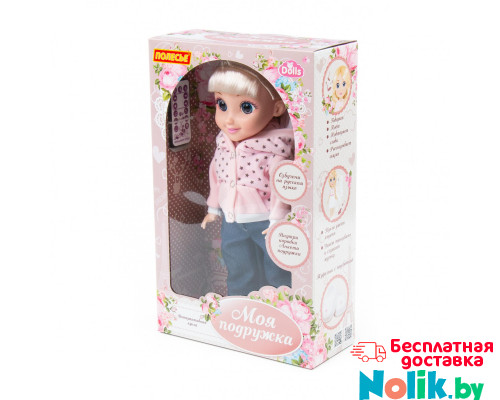 """Кукла детская """"Кристина"""" (37 см) на прогулке (в коробке) на радиоуправлении, поет песни, знает 7 сказок. Арт. 79312. Полесье в Минске"""