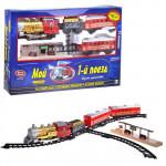 """0610 Железная дорога """"Мой первый поезд"""" путь 580 см, Play Smart, свет+звук+дым. Арт. 0610"""