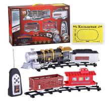 Детская железная дорога на радиоуправлении Мой поезд Play Smart. Свет, дым, звук. Арт. 0661