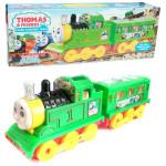 Детская игрушка паровозик Томас Trains Electric со световыми и звуковыми эффектами. Арт. 729
