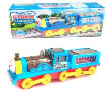 Детский паровозик со световыми 4D и звуковыми эффектами. Арт. LX338A