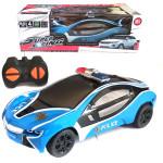 Машинка радиоуправляемая полицейская Super Racing. Цвет синий. Арт. 6138MX