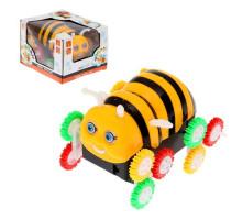 Детская машинка-перевертыш на батарейках Пчелка. Арт. 3306