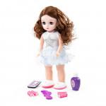 """Кукла """"Алиса"""" (37 см) в салоне красоты с аксессуарами (6 элементов) (в коробке) Моя подружка. Кукла на радиоуправлении, поет песни, знает 7 сказок. Арт. 79596. Полесье"""