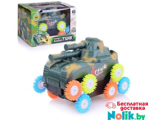 Детская игрушка танк перевертыш, работает от батареек. Арт. 3303 в Минске