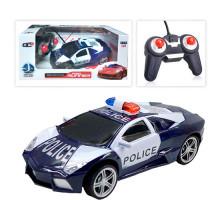 Машинка на радиоуправлении полицейская Road Runner. 1:24. Цвет темно-синий. Арт. 3700-13G