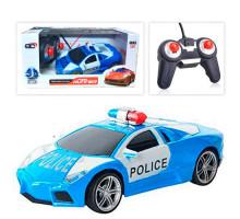 Полицейская машинка на радиоуправлении Road Runner. 1:24. Цвет синий. Арт. 3700-13G