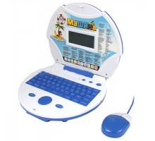 """Компьютер детский обучающий """"Пират"""" с мышкой и цветным экраном, 120 заданий, 2 языка: русский, английский арт. JD20270ERC"""