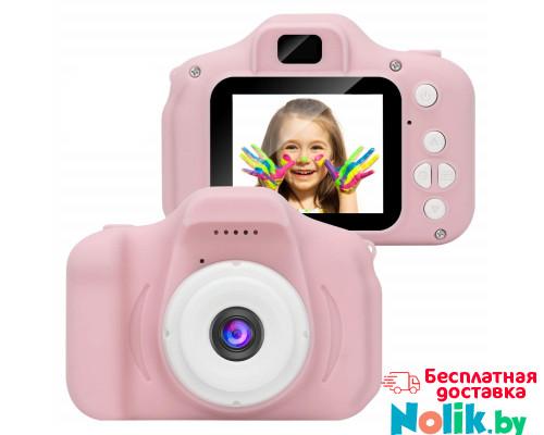 Детский фотоаппарат цифровой Photo Camera Kids (как настоящий). Цвет Розовый. Арт. KVR-001 в Минске