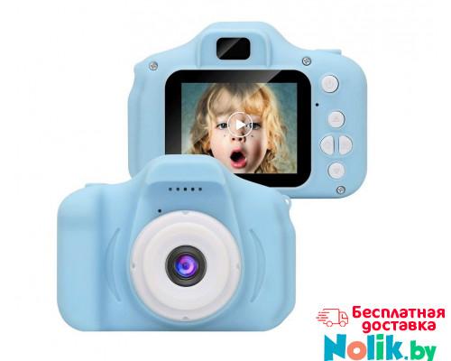 Фотоаппарат детский цифровой Photo Camera Kids (как настоящий). Цвет голубой. Арт. KVR-001 в Минске