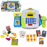 Детская касса со сканером, продуктами и микрофоном Play Smart. Арт. LS820A20-1