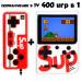 Игровая консоль sup game box plus 400 в 1 (приставка денди) + джойстик. Цвет белый. Арт. Sup-400-White в Минске