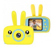 Детская цифровая камера Зайка Kids Camera Rabbit (как настоящий). Цвет желтый. Арт. KC600 М