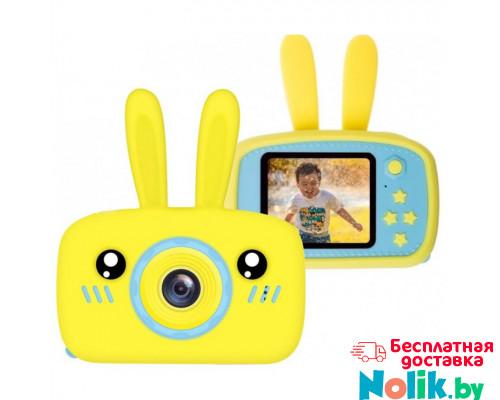 Детская цифровая камера Зайка Kids Camera Rabbit (как настоящий). Цвет желтый. Арт. KC600 М в Минске
