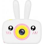 Фотоаппарат детский цифровой Зайка Kids Camera Rabbit (как настоящий). Цвет белый. Арт. KC600 М