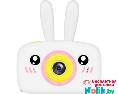 Фотоаппарат детский цифровой Зайка Kids Camera Rabbit (как настоящий). Цвет белый. Арт. KC600 М в Минске