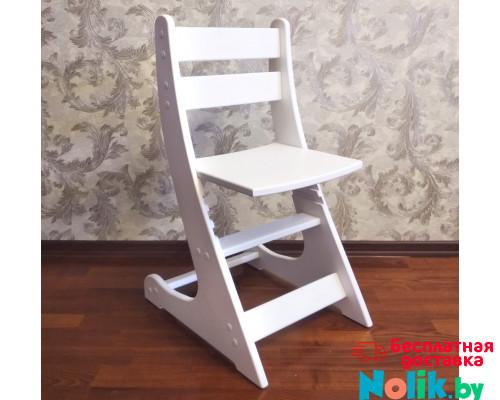 Детский растущий стул Выростайка-мини. Регулируемый стульчик по высоте (27-30-33-38 см). Цвет белый. Арт. Выростайка-мини в Минске