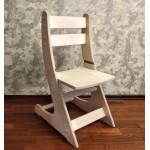 Детский деревянный стульчик регулируемый по высоте (27-38 см) Выростайка-мини. Цвет натуральный. Арт. Выростайка-мини