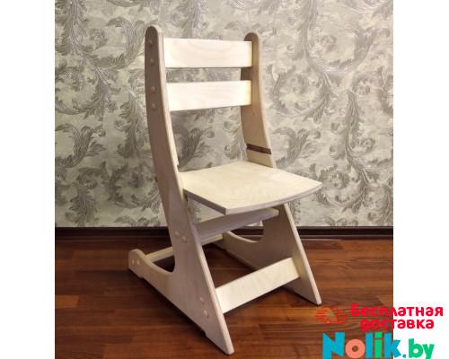 Детский деревянный стульчик регулируемый по высоте (27-38 см) Выростайка-мини. Цвет натуральный. Арт. Выростайка-мини в Минске