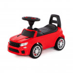"""Каталка-автомобиль """"SuperCar"""" №6 со звуковым сигналом (красная) арт. 84590. Полесье"""