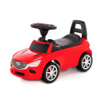 """Аавтомобиль-каталка """"SuperCar"""" №4 со звуковым сигналом (красная) арт. 84507. Полесье"""
