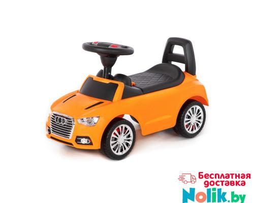 """Аавтомобиль-каталка """"SuperCar"""" №2 со звуковым сигналом (оранжевая) арт. 84569. Полесье в Минске"""