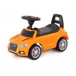 """Аавтомобиль-каталка """"SuperCar"""" №2 со звуковым сигналом (оранжевая) арт. 84569. Полесье"""