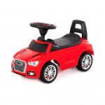 """Каталка-автомобиль """"SuperCar"""" №2 со звуковым сигналом (красная) арт. 84545. Полесье"""