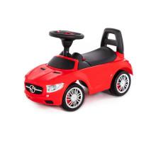 """Каталка для детей """"SuperCar"""" №1 со звуковым сигналом (красная) арт. 84460. Полесье"""