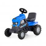 """Каталка-трактор с педалями """"Turbo"""" (синяя) арт. 84620. Полесье"""