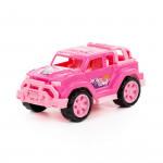 """Автомобиль """"Легионер-мини"""" (розовый) (в сеточке) арт. 84699. Полесье"""