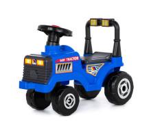 """Каталка-трактор """"Митя"""" (синяя) арт. 84729. Полесье"""