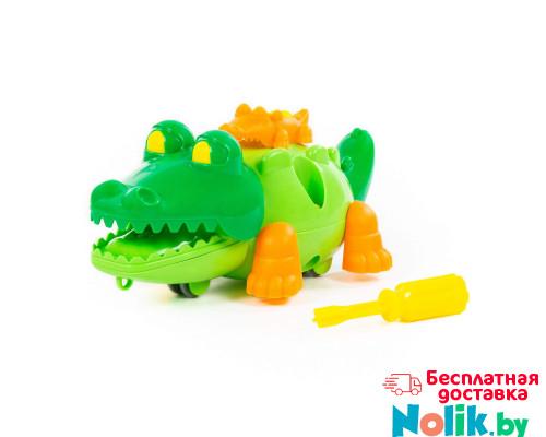 """Конструктор """"Крокодил"""" (17 элементов) (в пакете) арт. 84446. Полесье в Минске"""