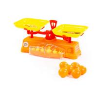"""Игровой набор """"Весы"""" """"Чебурашка и крокодил Гена"""" + 6 апельсинов (в сеточке) арт. 84262. Полесье"""