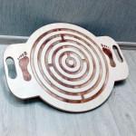 """Развивающая балансировочная доска. Балансборд """"Лабиринт №1"""" (Размер: 60х45см.) арт. BB6045-L1"""