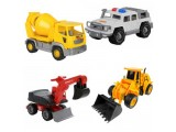 Детские легковые и грузовые машинки в Минске
